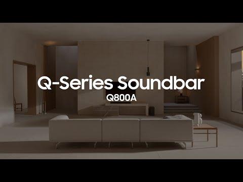 Soundbar - Q800A: Official Introduction | Samsung