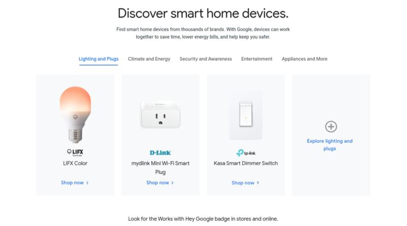 Four Google smart home updates that Matter