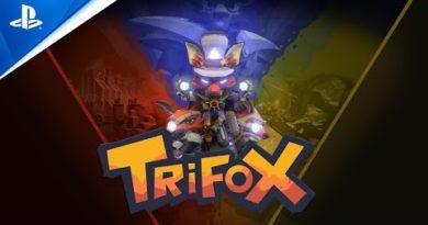 Trifox - Announce Trailer   PS5, PS4