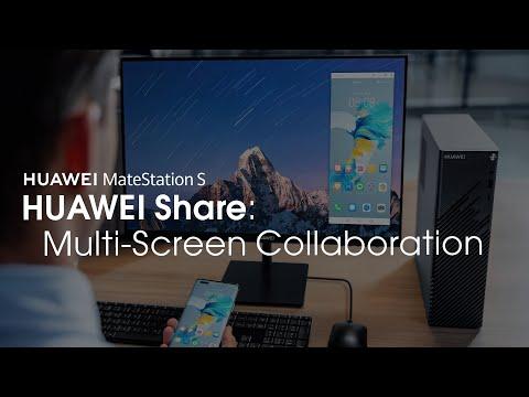 HUAWEI MateStation S - HUAWEI Share: Multi-Screen Collaboration