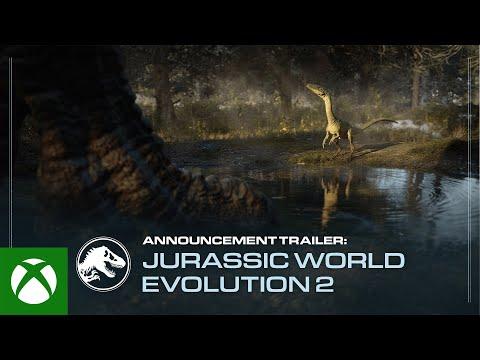 Jurassic World Evolution 2   Announcement Trailer