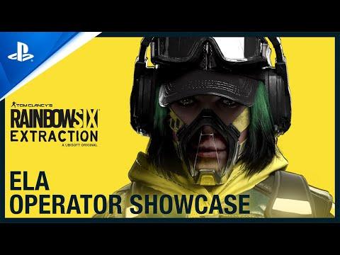 Rainbow Six Extraction: Ela - Operator Showcase   PS5