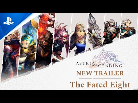 Astria Ascending: The Fated Eight - Release Date Trailer | PS5, PS4