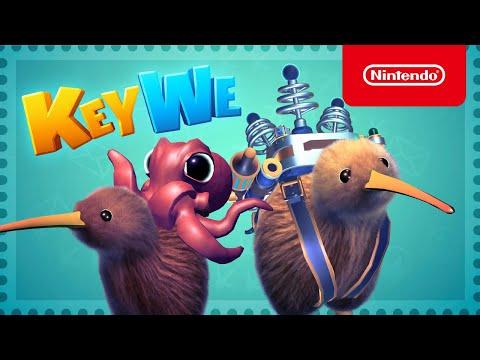 KeyWe - Release Date Trailer - Nintendo Switch