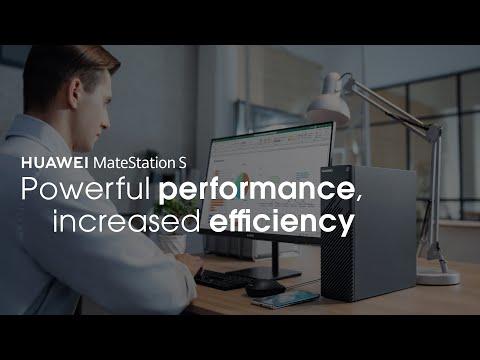 HUAWEI MateStation S - Powerful Performance, High Efficiency
