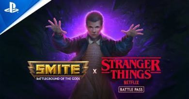 Enter the Upside Down in Smite with the Stranger Things crossover tomorrow