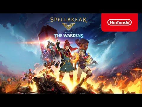 Spellbreak   Chapter 3: The Wardens Launch Trailer - Nintendo Switch