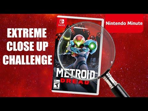 Nintendo Switch EXTREME Close-Up Challenge