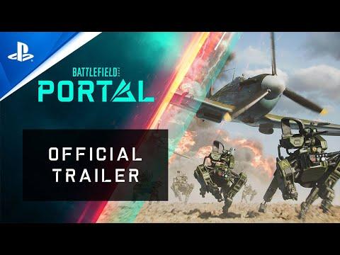 Battlefield 2042 - Battlefield Portal Official Trailer   PS5, PS4