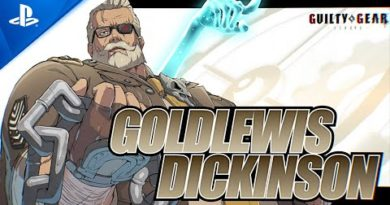 Guilty Gear -Strive- - New Character Reveal: Goldlewis Dickinson   PS5, PS4