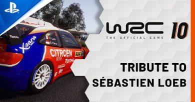 WRC 10 - Following Sébastien Loeb's Footsteps   PS5, PS4