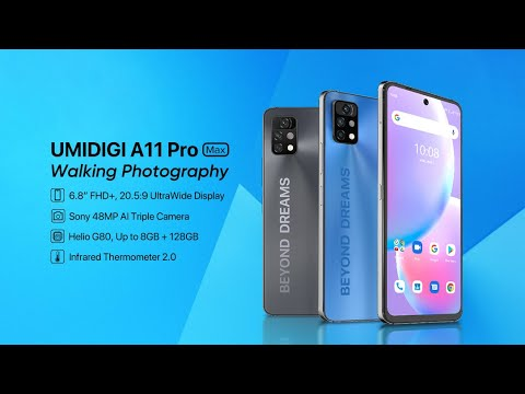 Introducing UMIDIGI A11 Pro Max - Unparalleled Walking Photography
