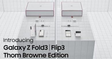Galaxy Z Fold3   Z Flip3 Thom Browne Edition Official Film: Unveiling