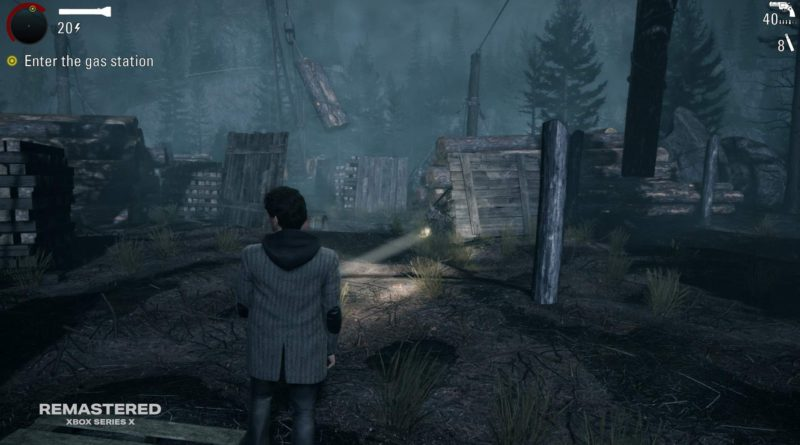 Judging a Book by Its Cover: The Making of Alan Wake Remastered