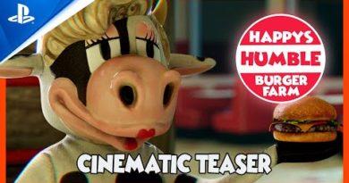 Happy's Humble Burger Farm - Cinematic Teaser Trailer | PS4