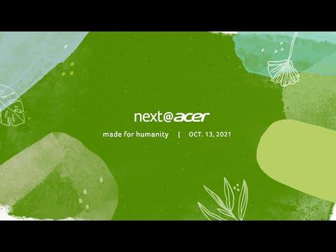 Next@Acer 2021   October Global Press Conference