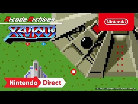 Arcade Archives XEVIOUS – Launch Trailer – Nintendo Switch