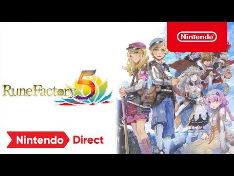 Rune Factory 5 – Nintendo Direct 9.23.21 Trailer – Nintendo Switch