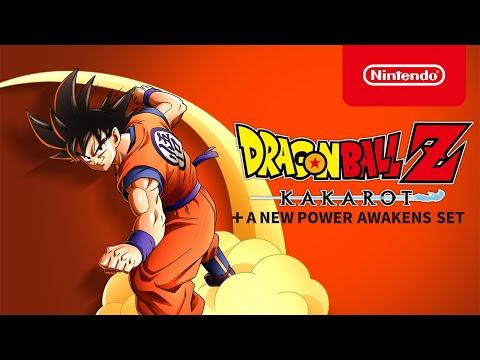 DRAGON BALL Z: KAKAROT + A New Power Awakens Set – Launch Trailer – Nintendo Switch