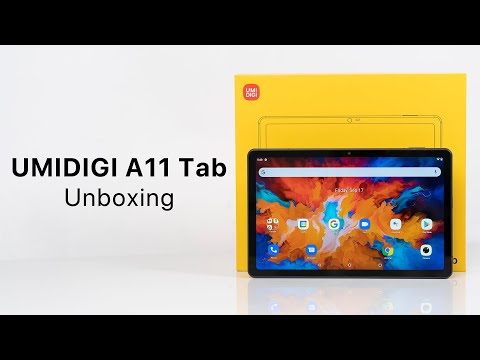 UMIDIGI A11 Tab Unboxing: What's in the box of our first tablet?