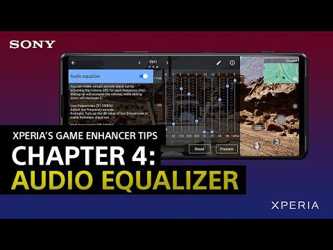 【日本語吹替版もあります】 Xperia's Game enhancer Tips – Chapter 4: Audio equalizer / Optimize V.C. microphone