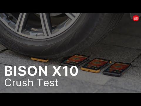 UMIDIGI BISON X10 VS Car: Crush Test