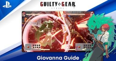 Guilty Gear -Strive- Beginner's Guide - How to Play Giovanna | PS CC