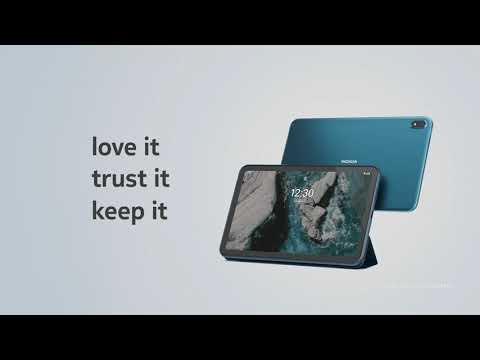 Nokia T20 - A tablet designed to last