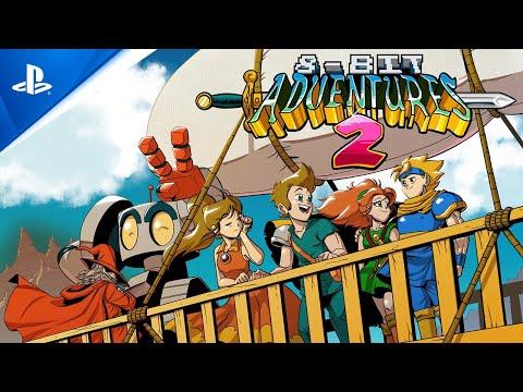 8-Bit Adventures 2 - Announcement Trailer   PS5, PS4