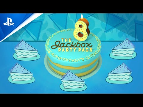 The Jackbox Party Pack 8 - Release   PS5, PS4