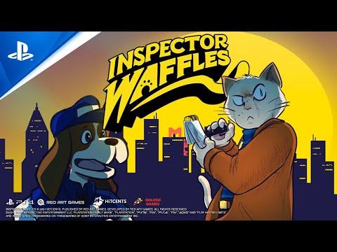 Inspector Waffles - Launch Trailer   PS4