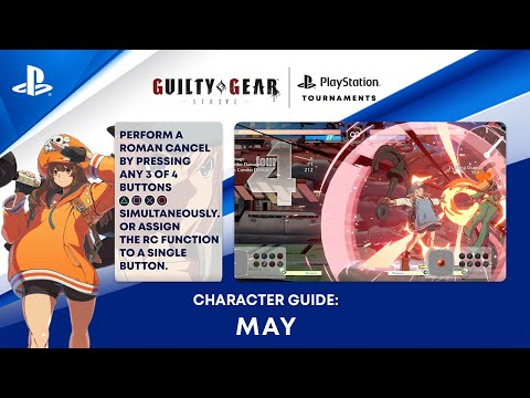 Guilty Gear -Strive- Beginner's Guide - How to Play May | PS CC